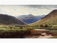 paysage d'ecosse by j. stewart