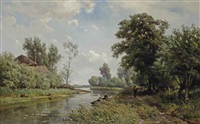 along the river vlist by jan willem van borselen