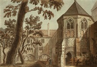the lavatory tower, canterbury, kent by francis (capt.) grosse