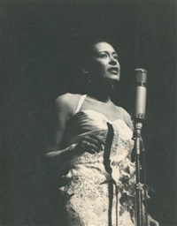 billie holiday, new york by jean-pierre leloir
