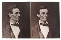 abraham lincoln (2 works) by alexander hesler