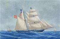 amelia af bandholm, captain borresen by andreas lind