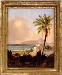 paesaggio dell'italia meridionale by johann nepomuk rauch