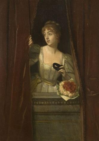 la loge au théâtre by florent willems