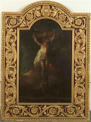 le christ en croix by charles de la fosse