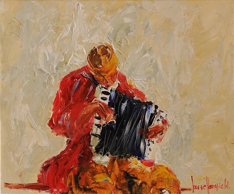 the accordian player by louise mansfield