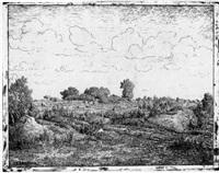 le plaine de la plante-à-biau by théodore auguste rousseau
