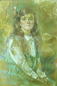 portrait of nancy dyer as a child by robert reid