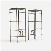 pedestals (pair) by arthur court