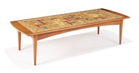 mosaic tile coffee table by evelyn ackerman