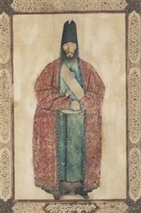 a portrait of the late sam khan ilkhani (collab. w/studio) by sani al-molk