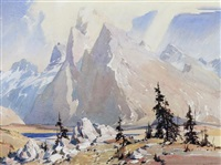 baker lake by alfred crocker leighton