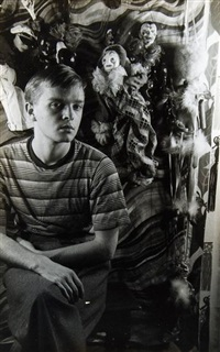 truman capote, march 30 (+ ernest hemingway and hedda hopper; 2 works) by carl van vechten