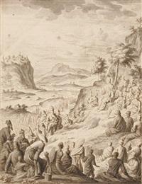 die bergpredigt - matthäus kapitel 5-7 (from physica sacra) by johann melchior füssli