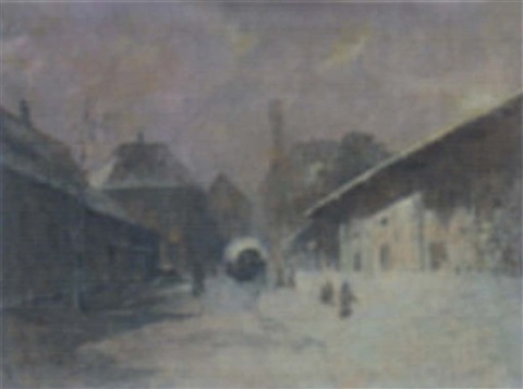 winter in dachau by fritz hass