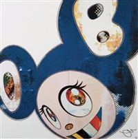 and then of blue by takashi murakami