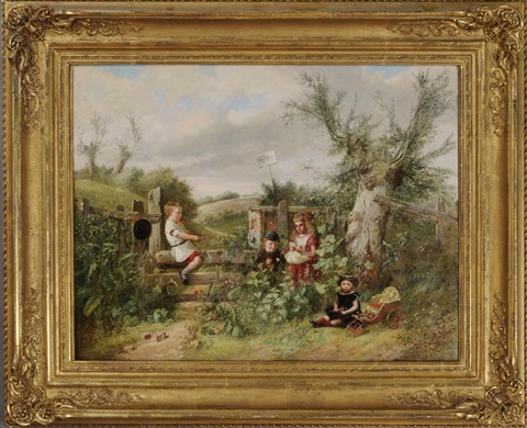 children at play by charles hunt