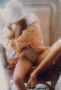 jeune fille au peignoir rayé by david hamilton