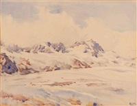 alpengletscher by rudolf glotz