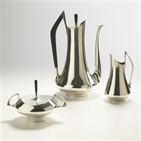 coffee service (from the circa 70s series) by donald colflesh