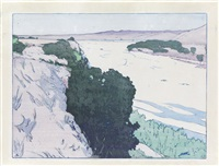 california 1--salinas river by frank morley fletcher
