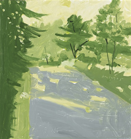 road 2 by alex katz