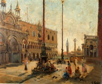 piazza san marco by constantine kluge
