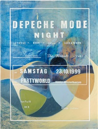 depeche mode night by lucy mckenzie