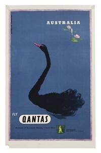 australia/qantas by douglas annand