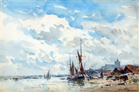 maldon, essex by arthur gerald ackermann