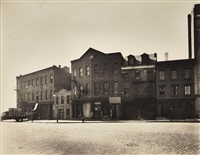 grand street 605-607-609, manhattan by berenice abbott