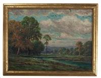 spring landscape by edward r. sitzman