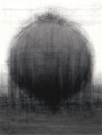 every... bernd and hiller becher spherical type gasholder by idris khan