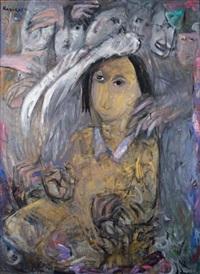 personnage by ida karskaya