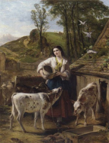the calf yard by henry hetherington emmerson