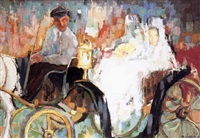 coche de caballos by martin ruiz anglada