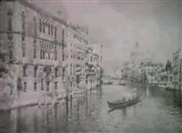 view of venice from the canal by e. boni
