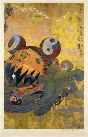 sans titre by takashi murakami