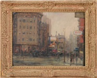 perry street & 7th avenue by alfred s. mira