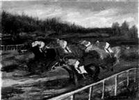 the horse-race by gabriele pietro caribaldi maria varese