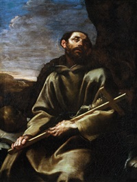 der heilige franziskus in ekstase - san francesco in estasi by flaminio torre