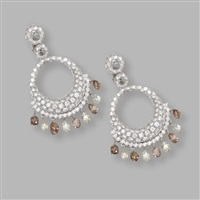 a pair of earclips by valente
