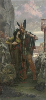 the viking farewell by herbert gandy