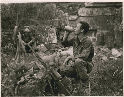 battle of okinawa from the series 24 hours with infantry man terry moore may 21 22 1945 by w eugene smith
