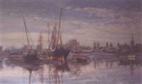 ebbtide - pin mill by margaret glass