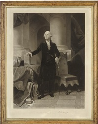 george washington by alexander hay ritchie