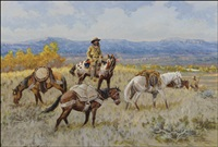 big sky, buckskin, and beaver by robert f. morgan