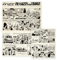 tiger joe - passagers pour tibango (22 works) by gérald forton
