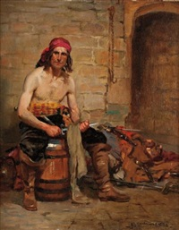 pirate by john sanderson-wells