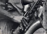 saxophoniste, cuba by raul corrales